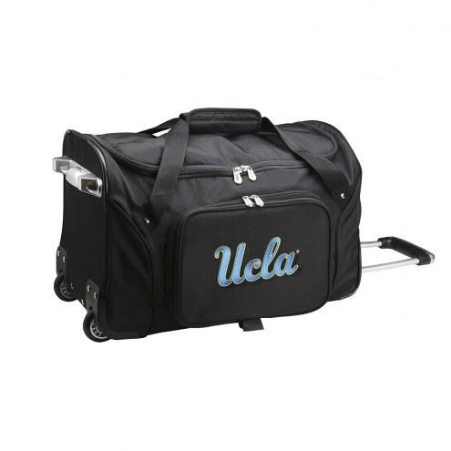 """UCLA Bruins 22"""" Rolling Duffle Bag"""