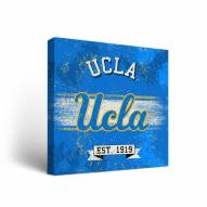 UCLA Bruins Banner Vintage Canvas Wall Art