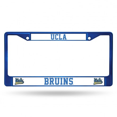 UCLA Bruins Colored Chrome License Plate Frame