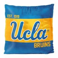 UCLA Bruins Connector Double Sided Velvet Pillow