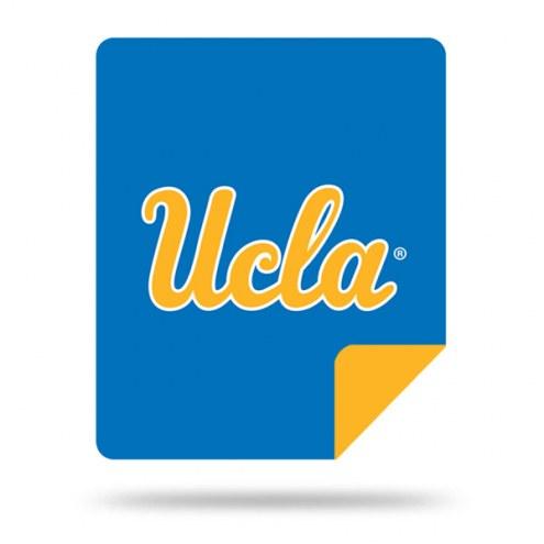 UCLA Bruins Denali Sliver Knit Throw Blanket