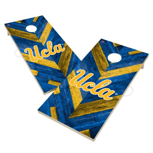 UCLA Bruins Herringbone Cornhole Game Set