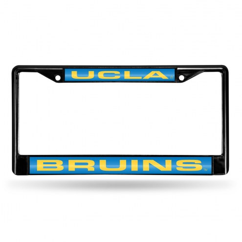UCLA Bruins Laser Black License Plate Frame