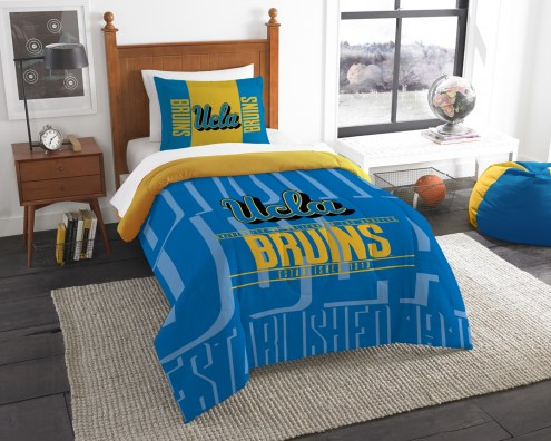 UCLA Bruins Modern Take Twin Comforter Set