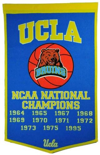 Winning Streak UCLA Bruins NCAA Basketball Dynasty Banner