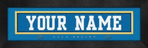 UCLA Bruins Personalized Stitched Jersey Print