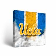UCLA Bruins Vintage Canvas Wall Art