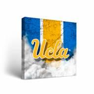 UCLA Bruins Vintage Canvas Wall Art