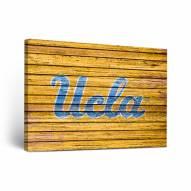 UCLA Bruins Weathered Canvas Wall Art