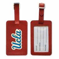 UCLA Bruins Basketball Luggage Tag