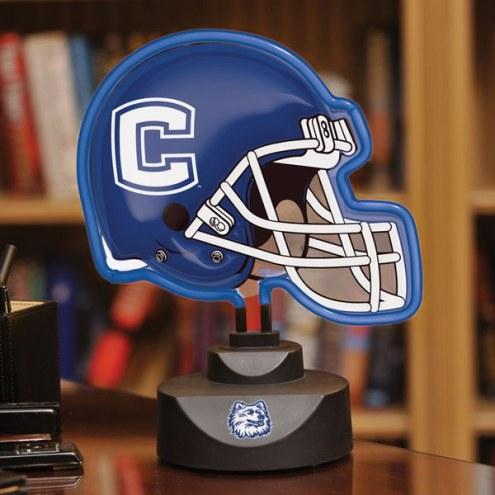 Connecticut Huskies Neon Helmet Desk Lamp