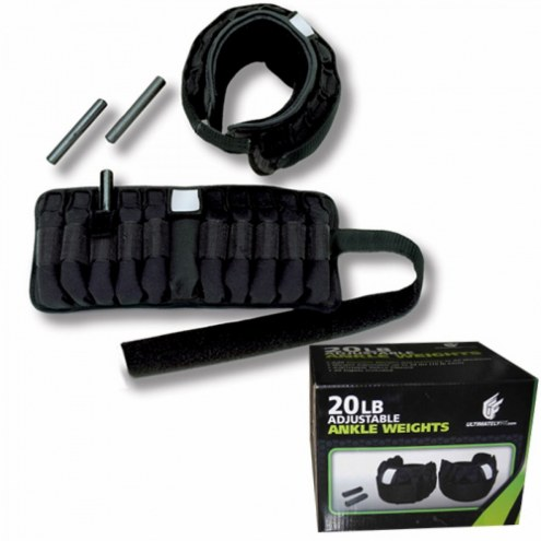 Ultimately Fit 10 lb Adjustable Ankle Weights