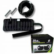 Ultimately Fit 20 lb Adjustable Ankle Weights
