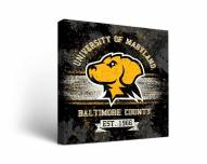 UMBC Retrievers Banner Canvas Wall Art