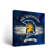 UNC Greensboro Spartans Banner Canvas Wall Art