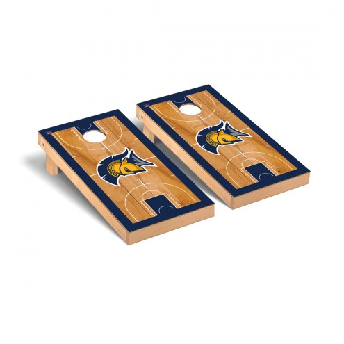 UNC Greensboro Spartans Basketball Court Cornhole Game Set