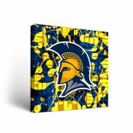 UNC Greensboro Spartans Fight Song Canvas Wall Art