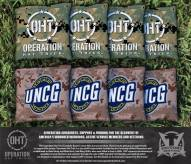 UNC Greensboro Spartans Operation Hat Trick Cornhole Bag Set