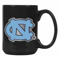 UNC North Carolina Tar Heels College 2-Piece Ceramic Coffee Mug Set