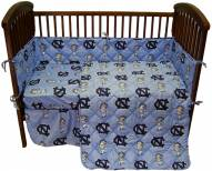 North Carolina Tarheels Baby Crib Set