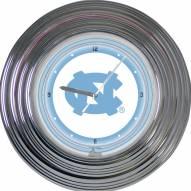 UNC Tarheels NCAA Neon Wall Clock