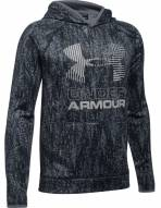 Under Armour Boys' Armour Fleece Printed Big Logo Hoodie
