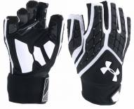 Under Armour Adult Combat V Half Fingered Lineman Gloves