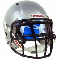 Under Armour Hologram Football Visor - Blue Mirror