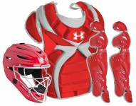 Under Armour Junior Victory Series Girl's Faspitch Catcher's Gear Kit - Junior 9-12