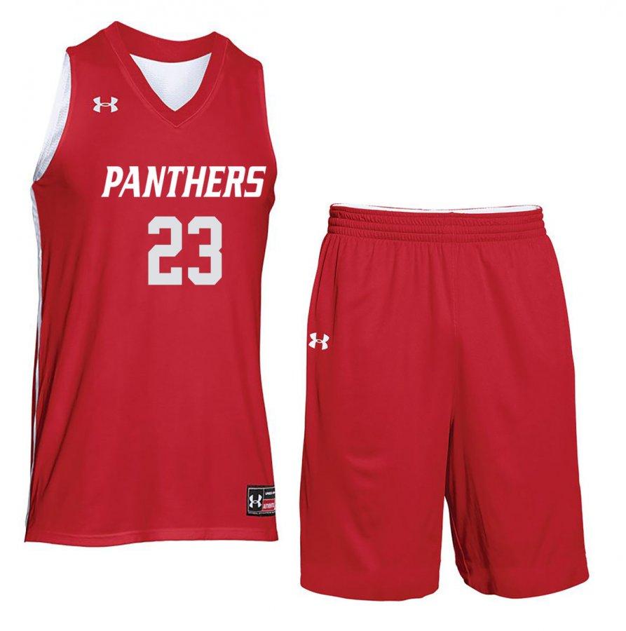 b4306881d628 Under Armour Men s Drop Step Custom Reversible Basketball Uniform