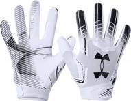 Under Armour F6 Youth Football Receiver Gloves