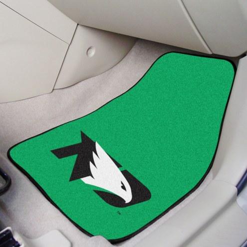 University of North Dakota 2-Piece Carpet Car Mats