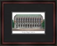 University of Washington Academic Framed Lithograph
