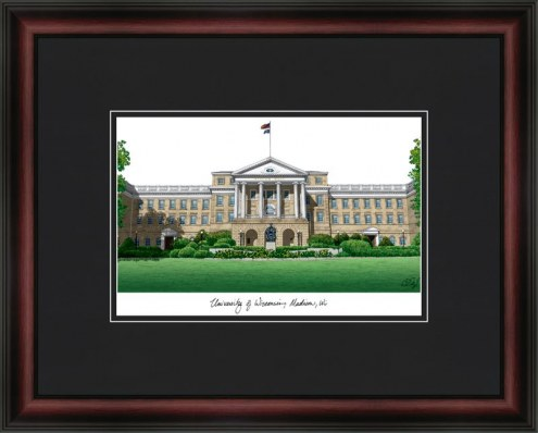 University of Wisconsin Madison Academic Framed Lithograph