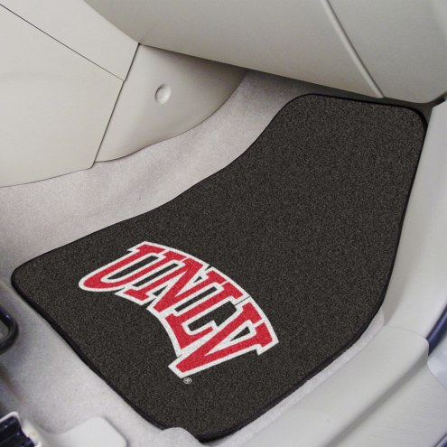 UNLV Rebels 2-Piece Carpet Car Mats