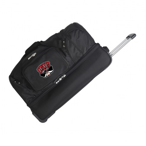 "UNLV Rebels 27"" Drop Bottom Wheeled Duffle Bag"