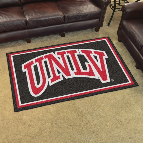 UNLV Rebels 4' x 6' Area Rug