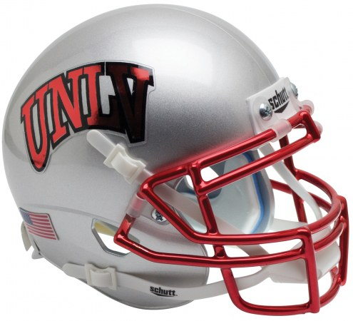 UNLV Rebels Alternate 2 Schutt Mini Football Helmet