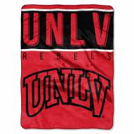 UNLV Rebels Basic Plush Raschel Blanket