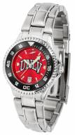 UNLV Rebels Competitor Steel AnoChrome Women's Watch - Color Bezel