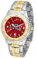 UNLV Rebels Competitor Two-Tone AnoChrome Men's Watch