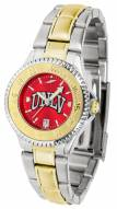 UNLV Rebels Competitor Two-Tone AnoChrome Women's Watch