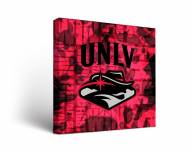 UNLV Rebels Fight Song Canvas Wall Art
