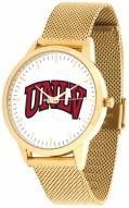 UNLV Rebels Gold Mesh Statement Watch