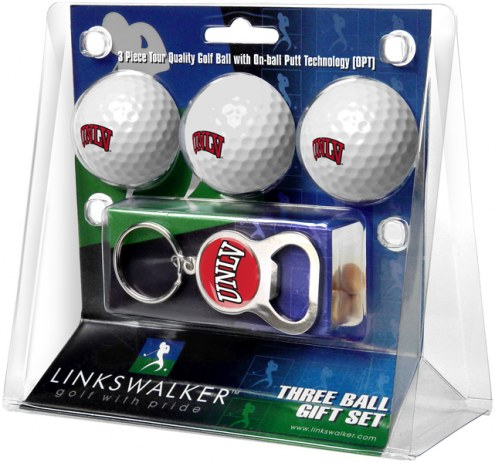 UNLV Rebels Golf Ball Gift Pack with Key Chain