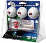 UNLV Rebels Golf Ball Gift Pack with Kool Tool