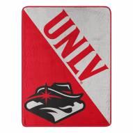 UNLV Rebels Halftone Micro Raschel Throw Blanket