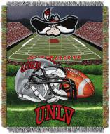 UNLV Rebels Home Field Advantage Throw Blanket