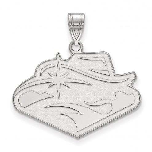 UNLV Rebels Sterling Silver Large Pendant