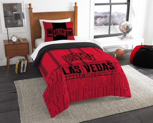 UNLV Rebels Modern Take Twin Comforter Set